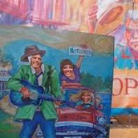 Den første bluesruta utenfor USA