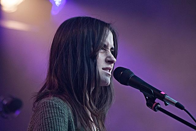 Theresa Wayman, Warpaint, Pstereo 2014, Kanonscenen, Trondheim
